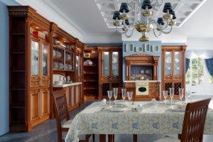 Кухня Страдивари, Массив липы, Италия