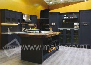 Кухня Манчестер серый жемчуг Массив ясеня, Производства Италии
