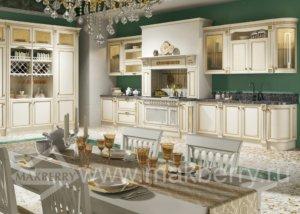Кухня Риальто массив березы, Производства Италии.