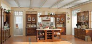 Кухня Аризона, Массив акации, Италия