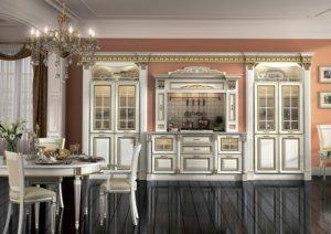 Кухня Инфинити, Массив ольхи, Италия