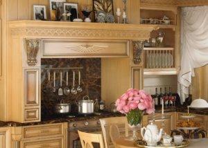 Кухня Ника Массив Red Alder (красная ольха), Производства Италии.