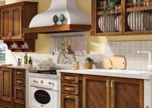 Кухня Сорренто Массив ясеня, Производства Италии
