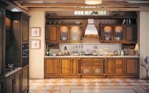 Кухня Арена, Массив липы, Италия