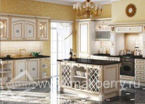 Кухня Афина Оро, Массив ясеня, Италия