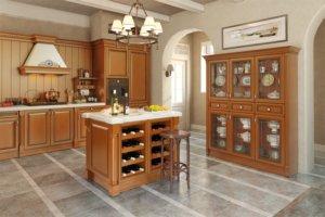 Кухня Олимп, Массив липы, Италия