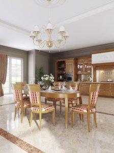Кухня Гарда, Массив липы, Italion Италия