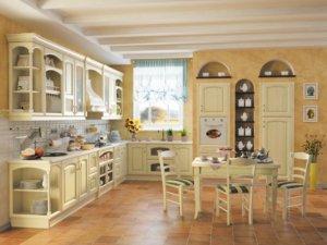 Кухня Наполи, Массив ясеня, Италия