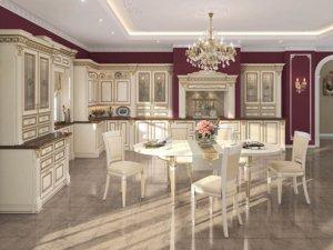 Кухня Нике Аворио , Массив ольхи , Италия