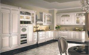 Кухня Фламиния, Массив ясеня, Италия