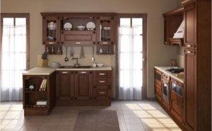 Кухня Флореале-Тик Массив дуба, Италия