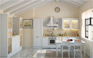Кухня Порто Бьянко, Массив ясеня, Италия