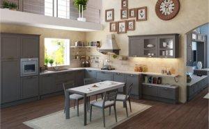 Кухня Порто Гриджио, Массив ясеня, Италия