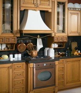 Кухня Лукреция, Массив американской красной ольхи, MOBILCLAN Италия