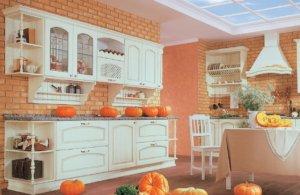 Кухня Роза Декапе массив ясеня, ilcam Италия